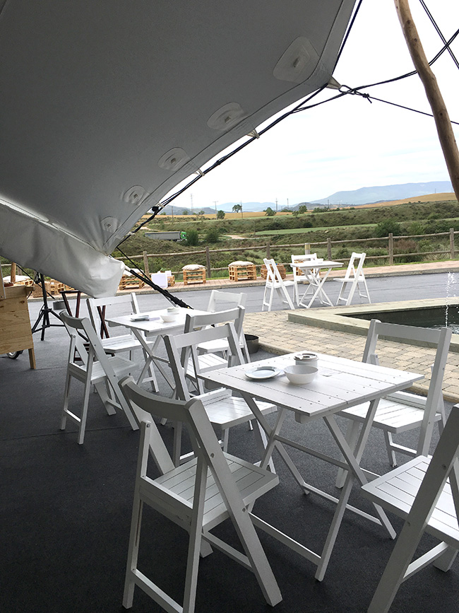 Catering area for Ecoembes