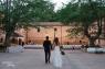 Los novios se presentan en el convite (Imagen de Noelia Jiménez)