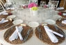 Una de las mesas del convite