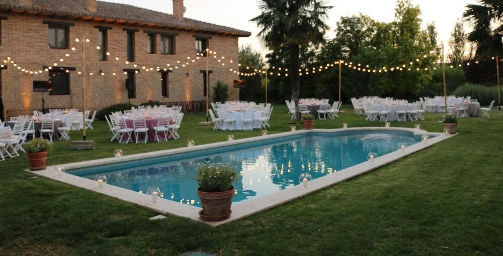 piscina evento