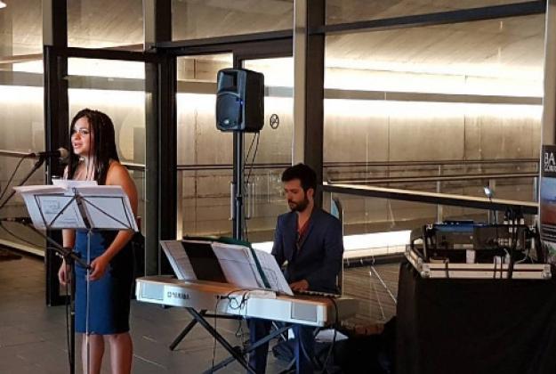 Música en uno de los eventos de Eventus